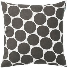 Spira Pom Pom Grey Cushion