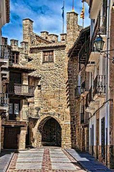 Rubielos de Mora Teruel, Spain