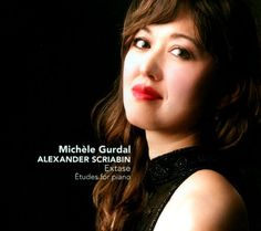 """Michèle Gurdal plays études by Alexander Scriabin. The CD was recorded at the Berlin-Britz Manor on a C. Bechstein D 282 concert grand piano, prepared by Torben Garlin to render a particularly warm and colourful sound. Gurdal did not opt for a Bechstein grand by chance, as she states: """"Scriabin favoured Bechstein pianos and he owned one. He loved the transparent, elegant and warm voice of the Bechstein grands; such instruments also inspire me""""."""