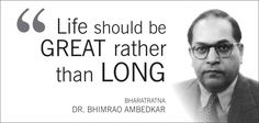We Salute the Iconic Dr. B.R. Ambedkar to stand against the Social Discrimination in India!