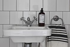 Topps Tiles (super cheap and a nice alternative to metro tiles The Frugality, Topps Tiles, Metro Tiles, Sink, Bathroom Ideas, Alternative, Home Decor, Interiors, Sink Tops