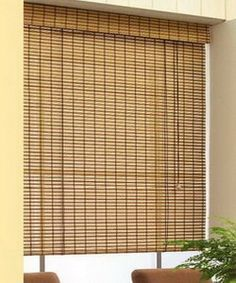 Bamboo curtain applications