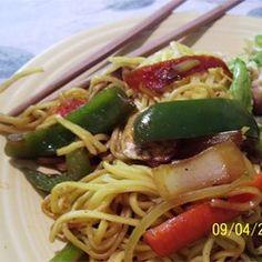 Vegetable Lo Mein - Allrecipes.com