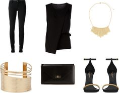 Find out how to enhance your tan with this all black ensemble at www.FashionMeKnot.blogspot.com. Perfect look for a Summer night out.