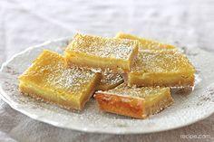 Homemade Lemon Bar Dessert