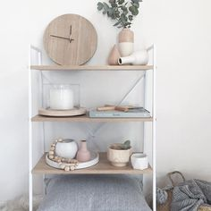 If this shelf was my Lounge room Mood-board; it's about spot on! White + Wood + Grey's and a touch of Blush It is one room in the house that need lots of LOVE Can't wait to reveal to you all... - - - - - - - - - #loungeroom #kmartaus #interioraddict #sharemystyle #interiordesigner #designer #shelf #instahome #e_bolig #growmyabode #homedecor #countryroadstyle #kmart #flowers #scandanavianhome #interiorstyling #interior4all #sharemystyle #interiores #kmartaustralia #homeinspo #interiord...