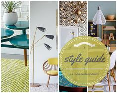 Come check out the ever-popular Modern Mid-Century style on Mia Design Blog!