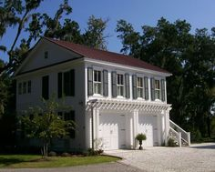 House Plans - Home Plan Details : Garage With 2-Bedroom Apartment