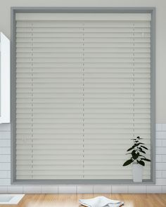 Mirage Faux Wood Venetian Blind without tapes, 50mm slat - direct from Make My Blinds