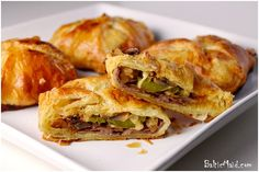 Philly Cheesesteak Puff Pastry    RSmith