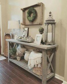 Comfy Farmhouse Living Room Decor Ideas