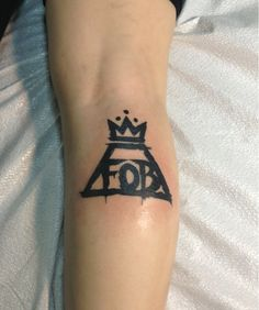 Fall Out Boy tattoo! @Danielle Fynbo Though we would probably never get this one..