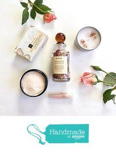 Rose Bath and Body Gift Set   Gift For Mom   Handmade, All Natural   Spa Gift   Gift for Her   Gift for Birthday   Valentine Gift from KayaSoaps https://www.amazon.com/dp/B01N04E8AV/ref=hnd_sw_r_pi_awdo_CDmYybB29W5J1 #handmadeatamazon