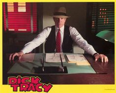 Warren Beatty's Dick Tracy is one of the best comic book films ever made. But even I have no need for Dick Tracy Know My Future, 1990s Movies, Warren Beatty, Best Comic Books, Police Detective, Business Articles, Al Pacino, American Comics, Screenwriting