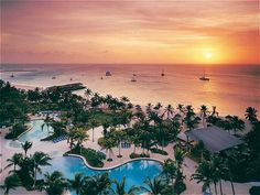 I want to be in Aruba right now