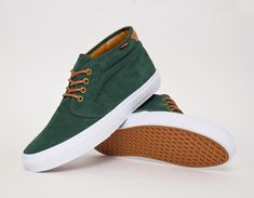 #Vans Chukka 69 - Green #sneakers