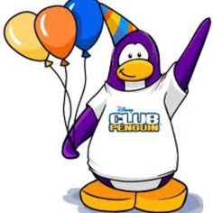 Club Penguin - Going to use this image as a template for making a pinata.