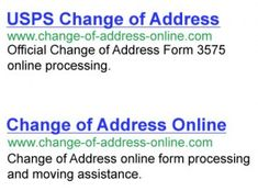 Us Postal Service Address Change A Usps Is An Important Thing To Take Care Before You Move New Place Wh Of