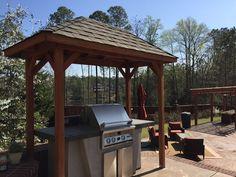 Custom grilling station #summertime