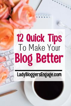 Whether you are a newbie or oldie blogger that are always things that you can do to make your blog better. Here are some great guidelines for improving your blog.  #guestpost #bloggingtips