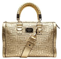 Versace Gianni Couture Handbags Gold Burberry Bags