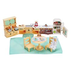 Calico Critters Kozy Kitchen Set : Target