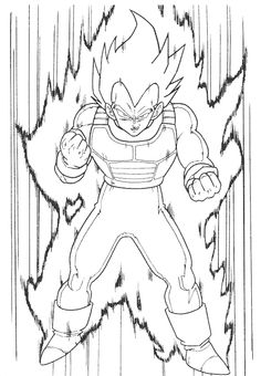 dragon ball z coloring page.html