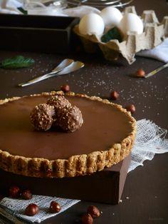 RECELANDIA: Tartaleta de nutella y ferrero rocher