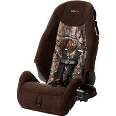 Realtree AP Camo Cosco High-Back Booster Car Seat $49.50  #realtree #camo #carseat