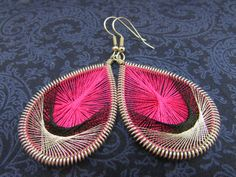 Hey, I found this really awesome Etsy listing at https://www.etsy.com/listing/156025264/pink-black-silver-peruvian-thread