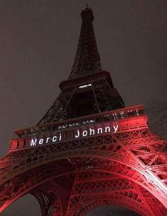 Hommage Johnny Hallyday Johnny Haliday, Music France, Paris Romance, Tour Eiffel, French People, Jean Philippe, Paris Restaurants, Ellie Goulding, I Love Paris
