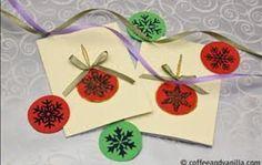 Homemade Christmas cards :)