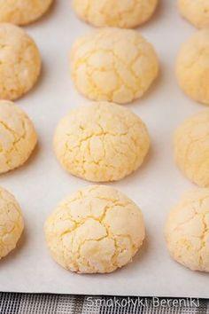 Kokosowe ciasteczka z budyniem Baking Recipes, Cookie Recipes, Dessert Recipes, Polish Desserts, Cute Desserts, Sweet Pastries, Christmas Baking, Love Food, Sweet Recipes