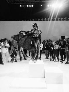 Kelly Tandiono in Didi Budiardjo Resort 2015 showcase.