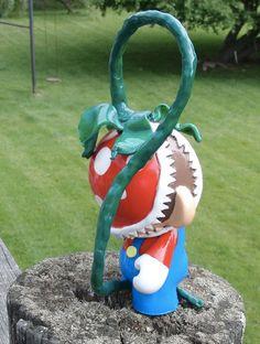 Super Mario Piranha Plant Custom Munny