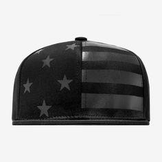 STAMPD: Black Flag 6 Panel Hat