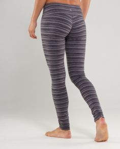 Stripey leggings/yoga pants, must have Yoga Pants, Must Haves, Lululemon, Active Wear, Comfy, Leggings, Fitness, How To Wear, Clothes