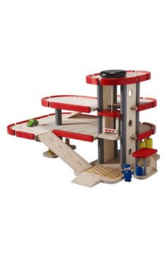 PlanToys® Wooden Parking Garage Toy available at #Nordstrom