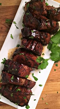 Honey Balsamic Pork Tenderloin ~ ready in 20 minutes ~ A Gouda Life Balsamic Pork Tenderloins, Pork Ribs, Bbq Ribs, Pork Loin, Rib Recipes, Smoker Recipes, Pork Marinade, Pork Tenderloin Recipes, Recipes