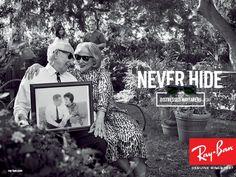 Campañas publicitarias - Never Hide | Sitio oficial Ray-Ban - Spain