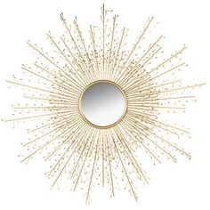 Peili Sun Rays x 120 x 3 cm) Tube Led, Style Deco, Sunburst Mirror, Sun Rays, Lampe Led, Sunshine, Sweet Home, Home Decor, Toque