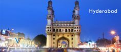 #Hyderabad is the capital of southern India's Telangana state. Its historic sites include Golconda Fort, a former diamond-trading center that was once the Qutb Shahi dynastic capital.Visit another places in hyderabad in this new year with your Family and Friends by VisakahaTravels.com.