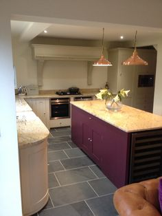 Neptune kitchen with stone tops fitted dec 2013