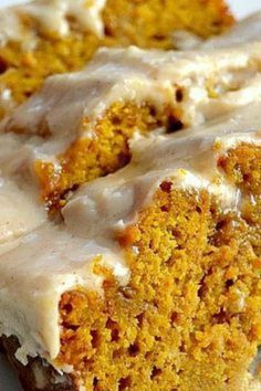 The BEST Pumpkin Bread with Brown Butter Maple Icing - Best Tasty Recipes On The Web