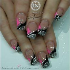 Hot Pink, Black