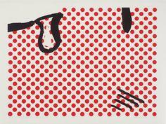 British Artist, Richard Hamilton's, 'A little bit of Roy Lichtenstein for ...' 1964