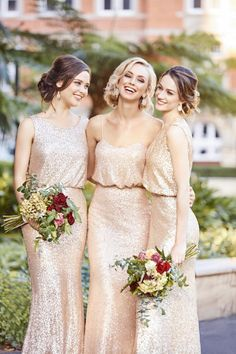 a90b7981271d 297 Best Sequin Bridesmaid Dresses images | Wedding Anniversary ...