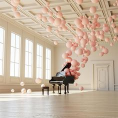 Balloon Concerto – Federico Picci In this digital work of art, Florence, Italy-based graphic designer, illustrator and animator Federico Picci has managed to create an illusion of music in a physical form. There is a crystal-clear sense of feather-light movement as the spheres appear to billow up from the solitary, fixed grand piano. The gently …