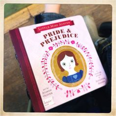 Pride & Prejudice, a counting primer by Jennifer Adams. My new favourite children's book.
