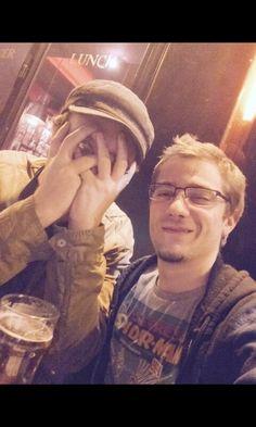Mathieu Sommet et Antoine Daniel